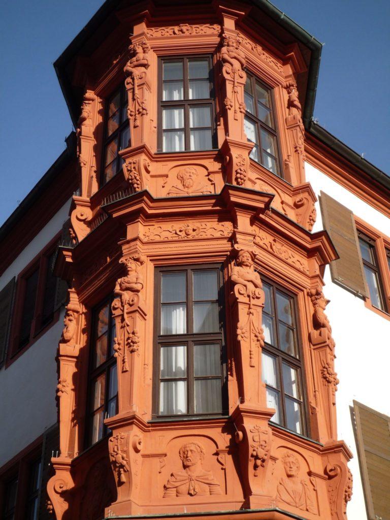 Würzburg, Erker vom Hof Conti